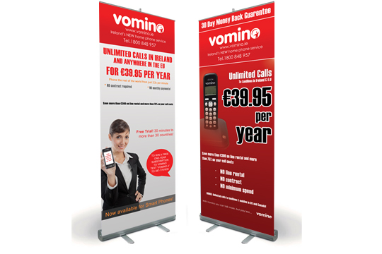 Roll Up/Pop Up Banners