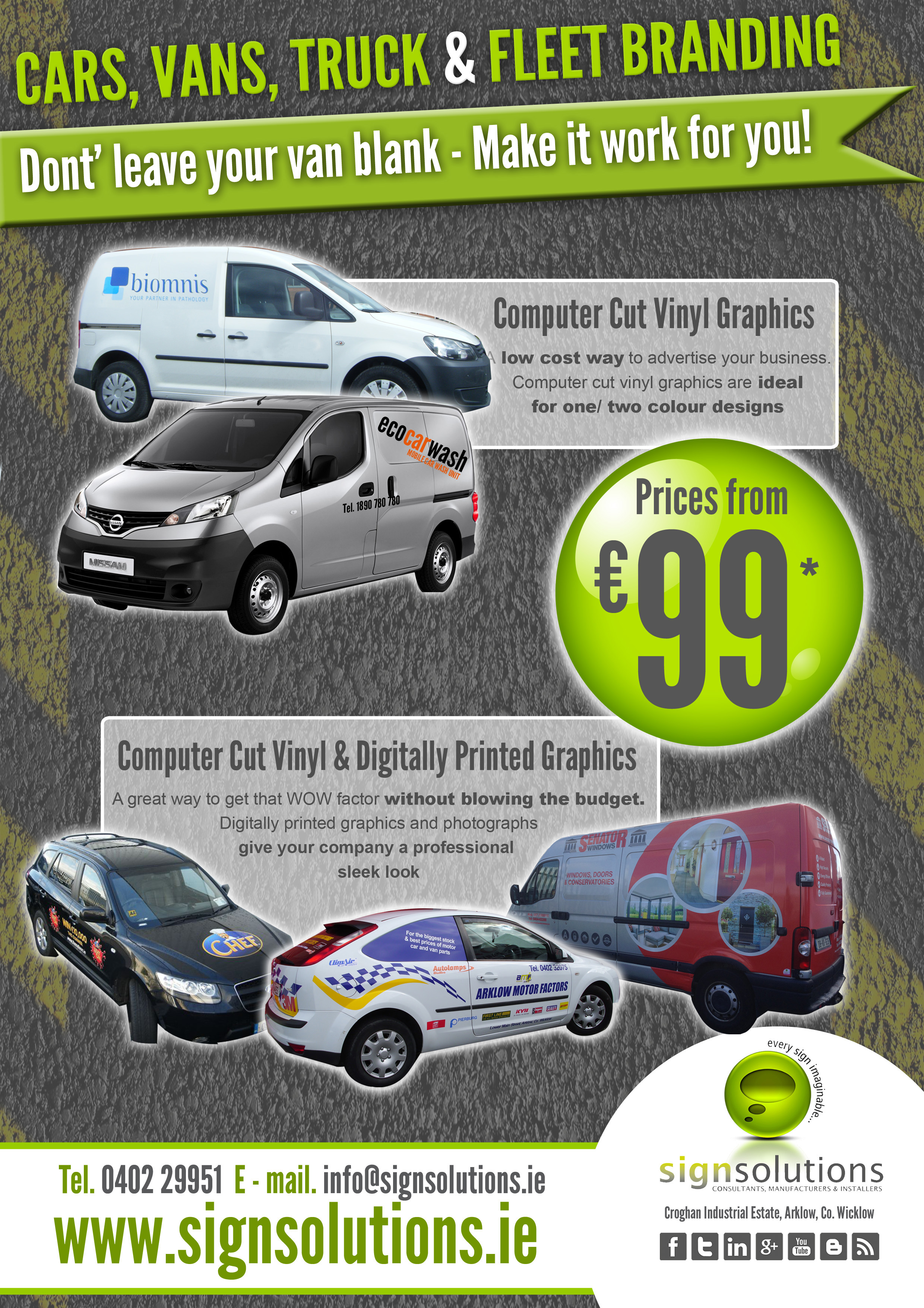 f) Vehicle Graphics Promotion