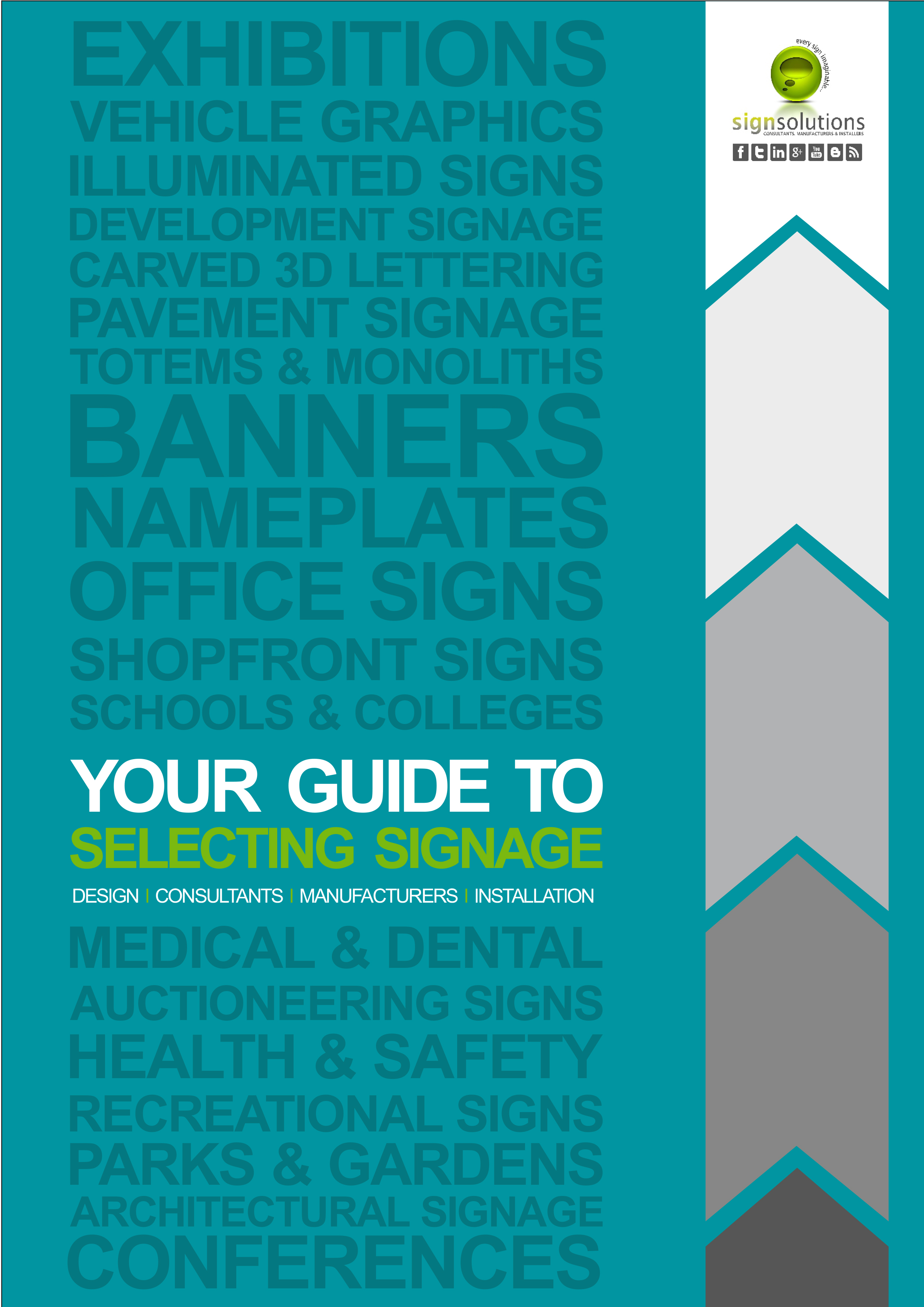 A) Your Guide to Selecting Signage